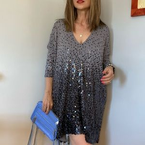 Filippa K sparkly summer dress or swing top size S